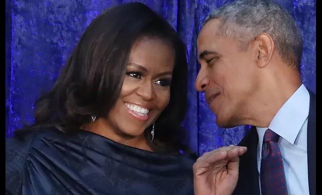 Bayan Obama taytlı fotoğraf paylaştı, binlerce beğeni aldı