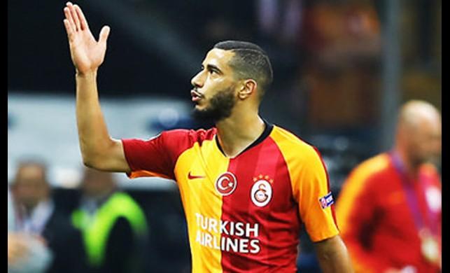 Galatasaray yönetimi taraftara küfreden Belhanda ile ilgili kararını verdi
