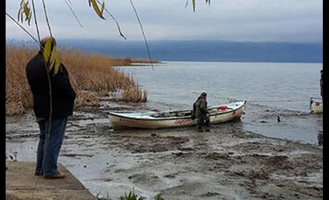 Göl 25 metre çekilmişti! Korkutan görüntü ile ilgili açıklama geldi