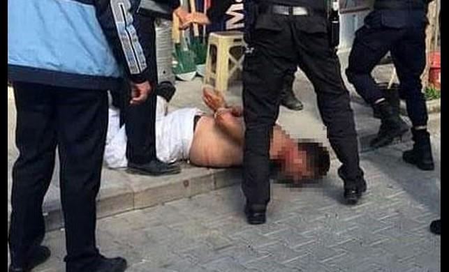 Kenti birbirine kattı, polis ancak böyle durdurabildi