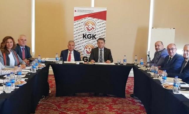 KGK'da görev dağılımı yapıldı
