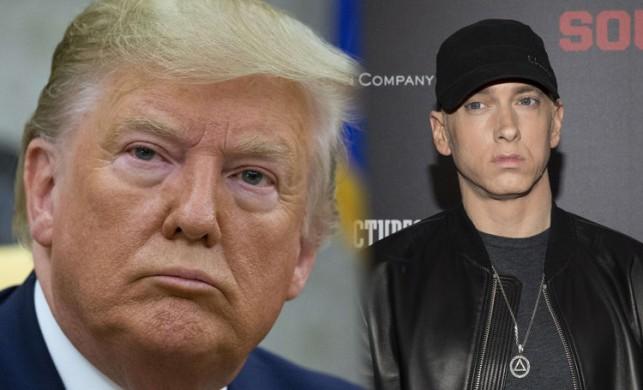 Donald Trump, Eminem'in başına bela oldu!