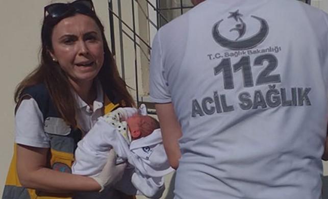 Yeni doğmuş bebeğini çöp kovasının yanına bırakmıştı... O kişi bulundu