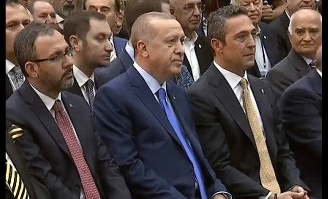 Cumhurbaşkanı Erdoğan, Fenerbahçe'de divan üyesi oldu