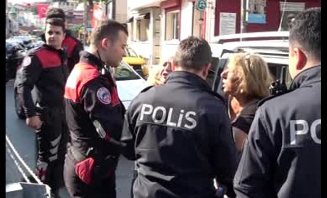 İstanbul'un göbeğindeki kapkaç terörüne anında müdahale