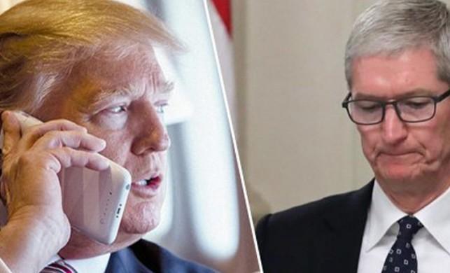 Trump, eski iPhone'ları geri istiyor!