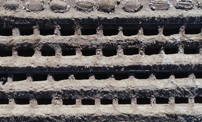 Erzurum'da kışa hazırlık: 800 mezar kazıldı