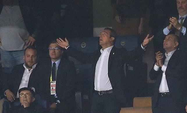 Hayran hayran izledi! Ali Koç o gole tekrar tekrar baktı...