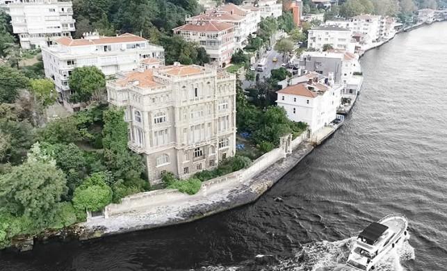 Yıllık vergisi 5, 5 milyon TL! Türkiye'nin en pahalı yalısı alıcısını bekliyor