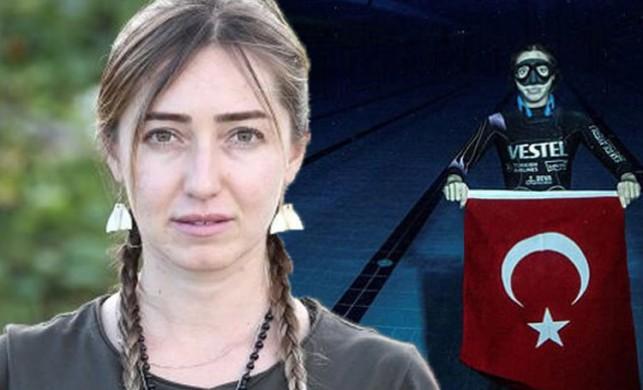 Eski Survivor yarışmacısı Şahika Ercümen, dünya rekoru kırdı