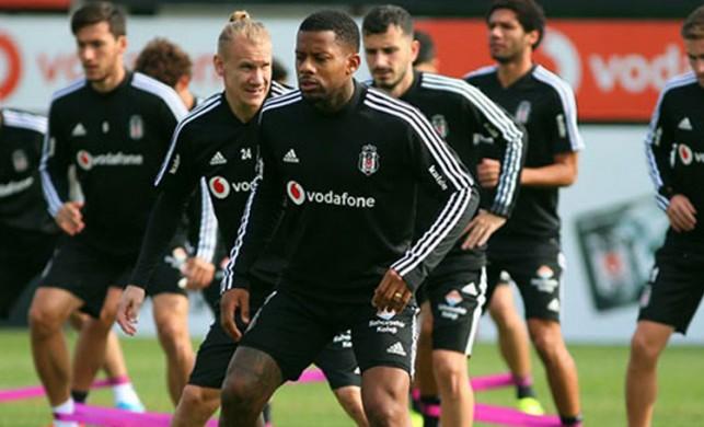 Beşiktaş'ta Antalyaspor hazırlıkları 4 eksikle devam etti