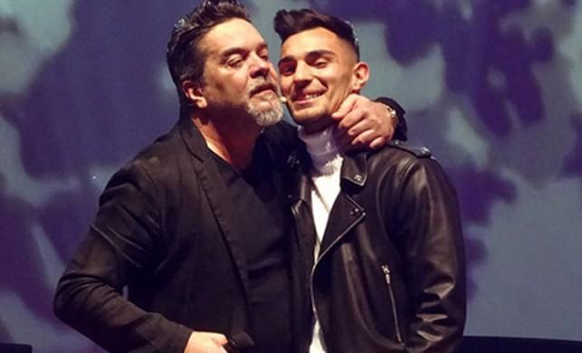 Milli oyuncu Kaan Ayhan, uzun süre seyircilerden alkış aldı