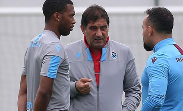 Trabzonspor'da Sturridge, Göztepe maçında yok