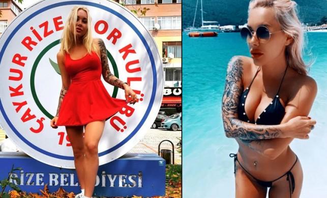 Paylaştığı çıplak fotoğraflarla gündeme gelmişti... Irina Moroziuk kulüp başkanı oldu