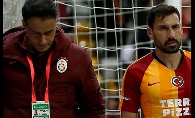 Galatasaray'da Şener Özbayraklı'dan kötü haber geldi: En az 6 hafta yok