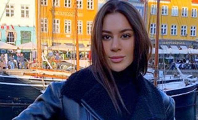 Pırıl Çetindoğan Danimarka'da bir restoranda 895 euroluk solucan yedi!
