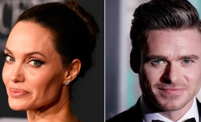Angelina Jolie ve Richard Madden bomba paniği nedeniyle setten uzaklaştırıldı