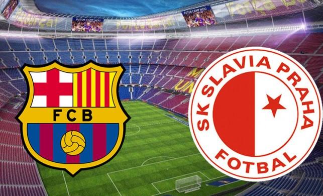Barcelona Slavia Prag maçı saat kaçta hangi kanalda? F Grubu puan durumu