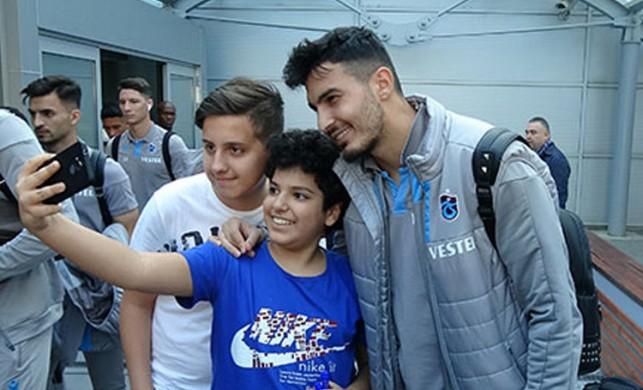 Rusya ekibi Krasnodar ile karşılaşacak olan Trabzonspor, Krasnodar'a geldi