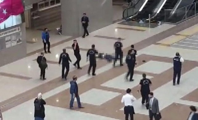 Son dakika: İstanbul Adalet Sarayı'nda intihar şoku!