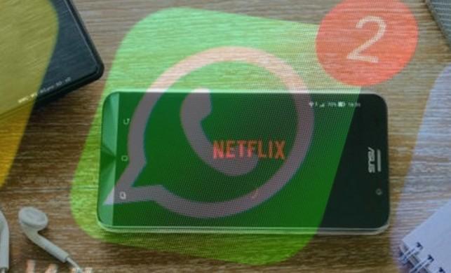Netflix tanıtımları Whatsapp sohbet penceresi üzerinden izlenebilecek
