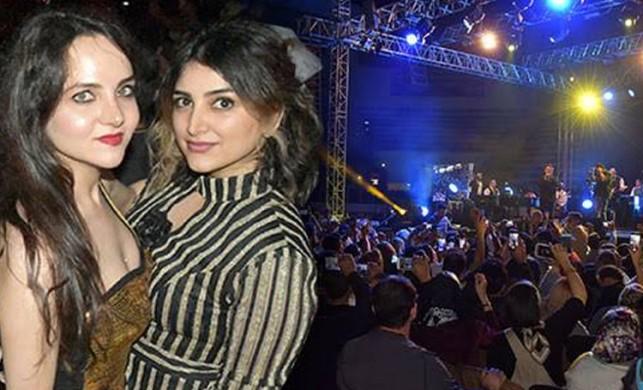 Van'da, İranlı ünlü şarkıcı Moein, sahne aldı
