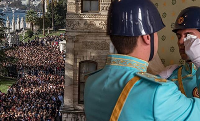 Atatürk'ün hayatını kaybettiği oda, törenin ardından vatandaşların ziyaretine açıldı