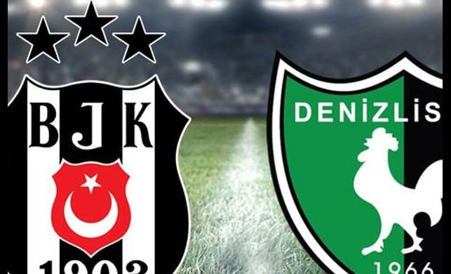 Beşiktaş-Denizlispor maçı saat kaçta? Beşiktaş Denizlispor maçını canlı izle