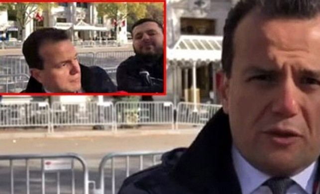 ABD'de TRT Haber muhabiri saldırıya uğradı