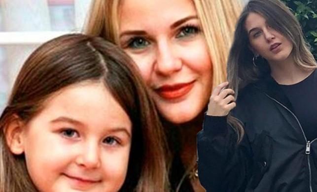 Ünlü oyuncu Emine Ün'ün kızı Duru Kınay annesine benzerliğiyle görenleri hayrete düşürdü