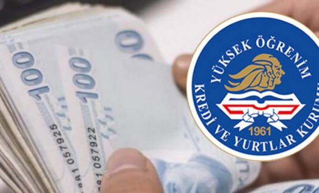 KYK burs ve kredi ödemeleri bugün başlıyor! İşte KYK'nın burs ödeme tablosu