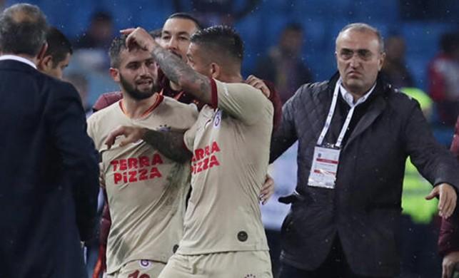 Trabzonspor Galatasaray maçı ardından Abdürrahim Albayrak'a saldırı!