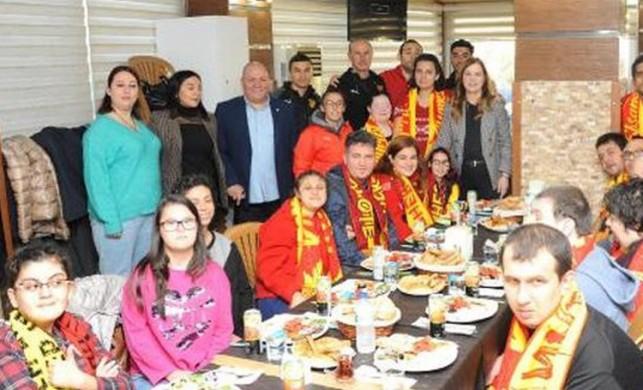 Balçova'da Dünya Engelliler Günü'ne özel kahvaltı