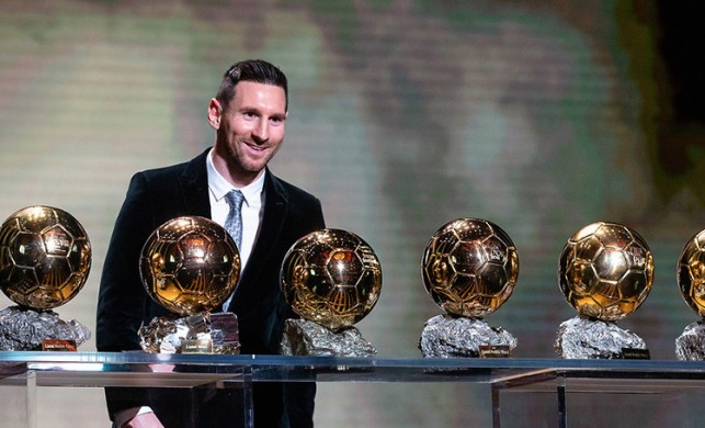 Ballon d'Or ödülünü 6. kez Lionel Messi kazandı! İşte sıralama...