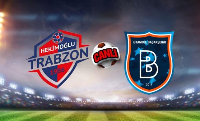 Hekimoğlu Trabzon - Başakşehir maçı canlı izle | Aspor canlı yayın