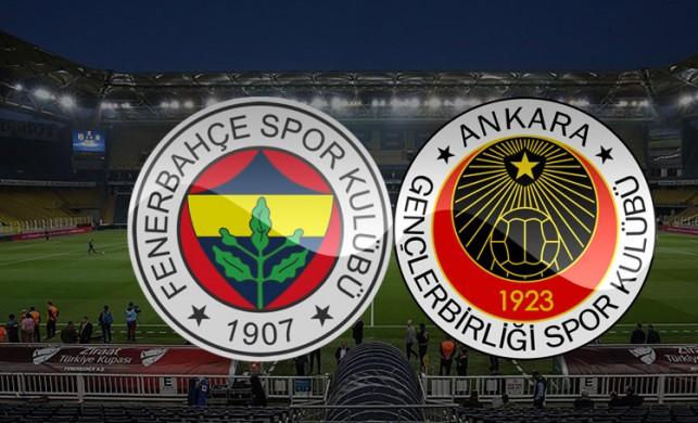 Fenerbahçe - Gençlerbirliği maçı saat kaçta, hangi kanalda? FB Gençlerbirliği maçı canlı izle