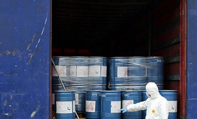 Gürbulak Sınır Kapısı'nda 18, 4 ton siyanür ele geçirildi