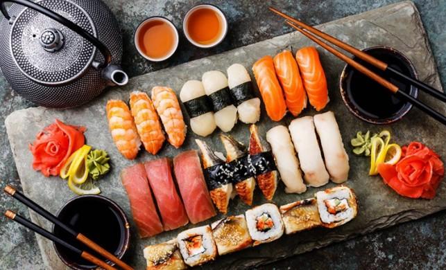 Sushi sunumu nasıl yapılır? Sushi nasıl servis edilir?