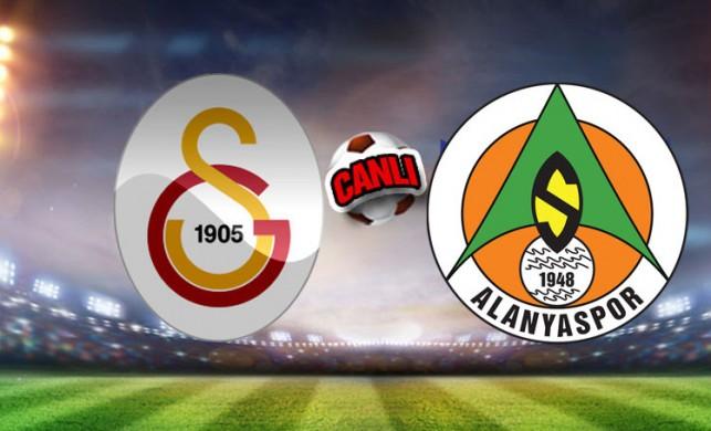 Galatasaray - Alanyaspor maçı canlı izle: GS - Alanyaspor maçı canlı yayın