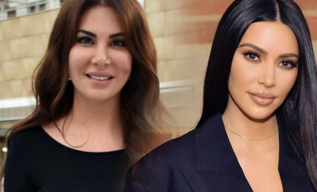 Ebru Yaşar, Kim Kardashian'a meydan okudu: O yokken biz vardık