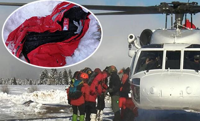Uludağ'da kaybolan dağcıları arama çalışmaları montun bulunduğu bölgede yoğunlaştı