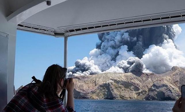 Yeni Zelanda'da yanardağ patlaması! Ölü sayısı 5'e yükseldi... Yaralılar var!