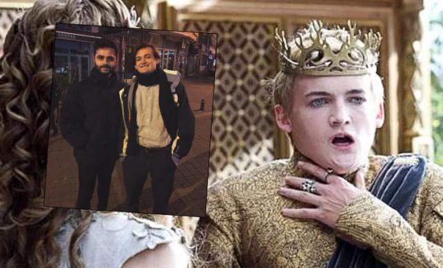 Game of Thrones'un nefret edilen karakteri Joffrey (Jack Gleeson), İstanbul'da ortaya çıktı