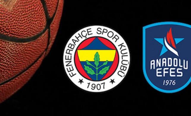 Fenerbahçe Beko Anadolu Efes Euroleague maçı ne zaman saat kaçta hangi kanalda?