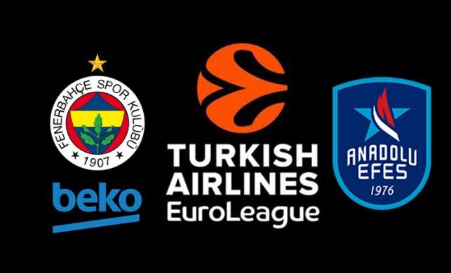 Fenerbahçe Beko - Anadolu Efes maçı ne zaman, saat kaçta, hangi kanalda?