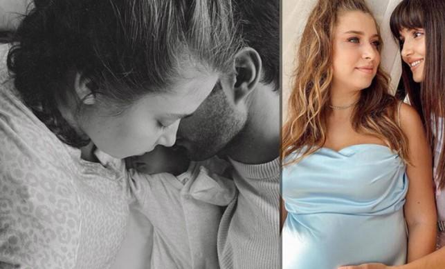 Kızı Aylin Mavi'yi kucağına alan Gamze Erçel'den ilk paylaşım: İyi ki geldin Mavi...