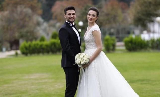 Milli futbolcu Okay Yokuşlu'nun mutlu günü!