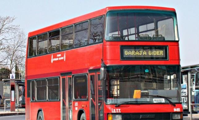 Çift katlı otobüslere fırtına engeli! İETT'den sefer iptali açıklaması