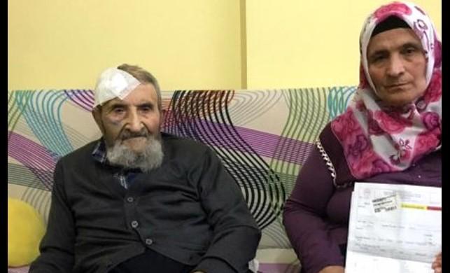 İstanbul'un göbeğinde dehşet! 93 yaşındaki zavallı adamı dövüp 4 bin lirasını gasp ettiler