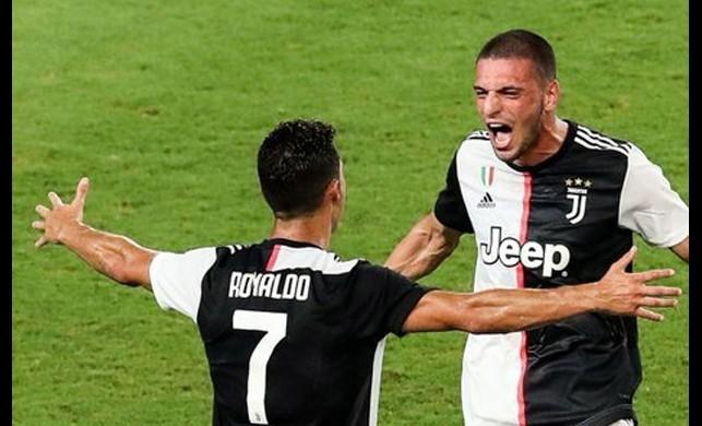 Merihli Juventus zorlanmadan kazandı, Ronaldo 3 gol atarak yine yıldızlaştı